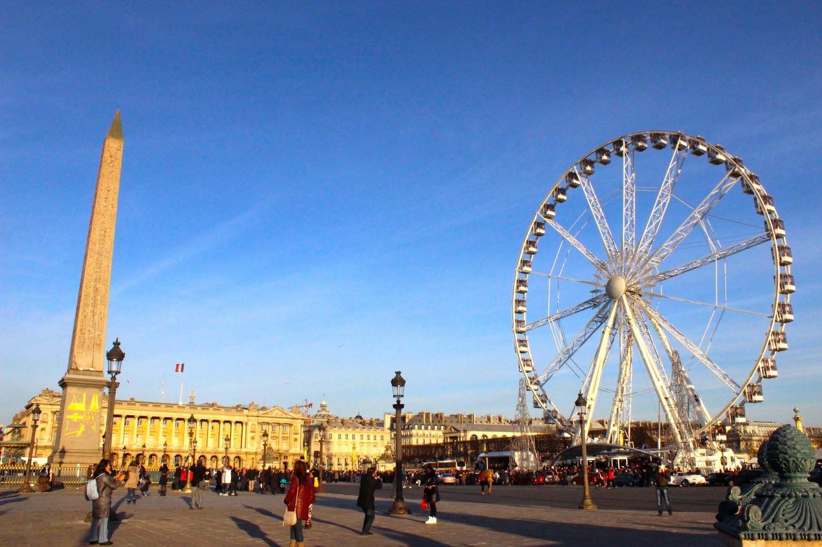 Jalan-Jalan di Paris - Place de la Concorde