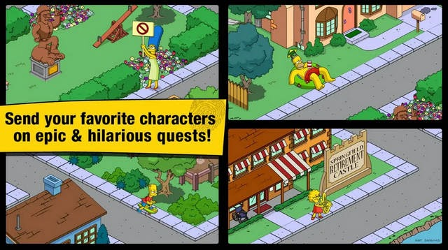The Simpsons: Tapped Out screenshot