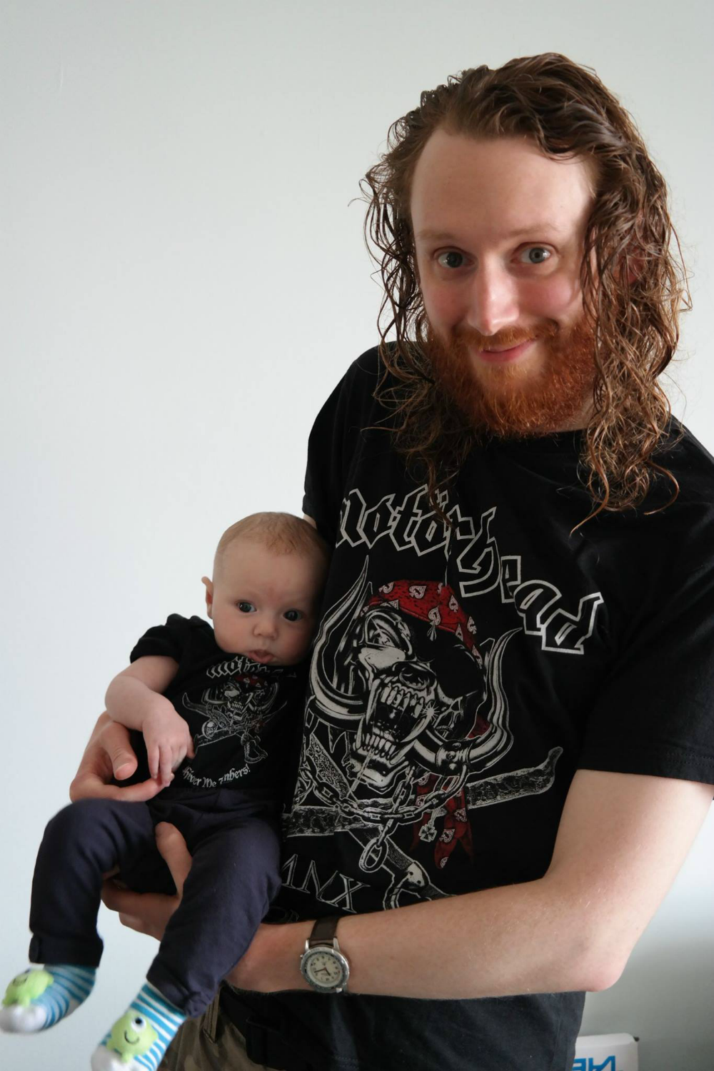 Matilda Rooftops: Style Icon (3-6 month edition) - Motorhead outfit