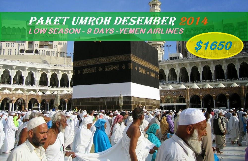 Paket Umroh Reguler Murah Promo Desember 2014