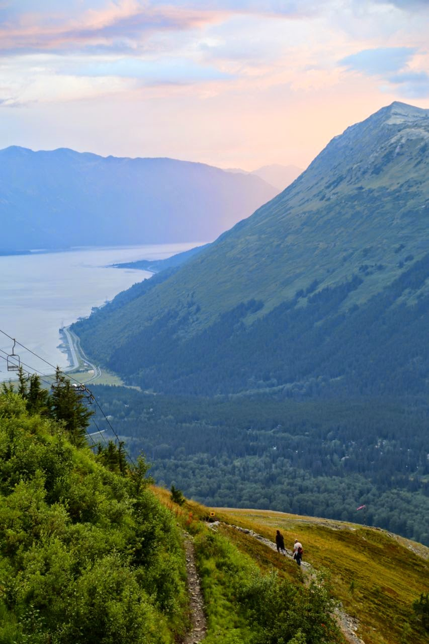 View from Alyeska Resort, Alaska