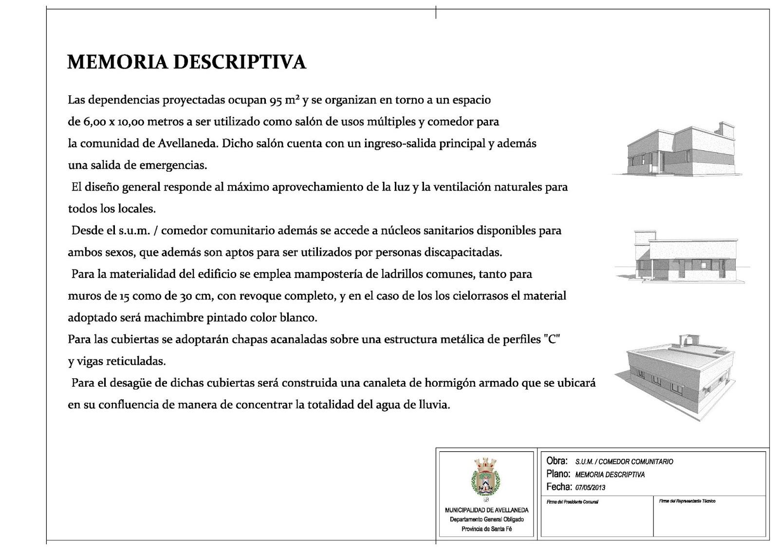Resumen proyectos realizados s u m comedor comunitario for Proyecto comedor comunitario pdf
