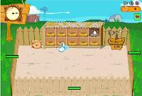 لعبة مزرعة الدجاج