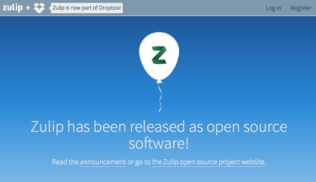 Les presentamos a Zulip: El servicio de chat impulsado por Dropbox