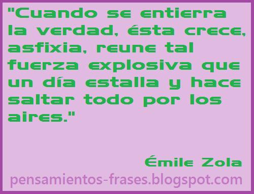 frases de Émile Zola