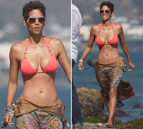 So Halle Berry turned 45 this August and celebrated by donning a bikini and  hitting the beach with her daughter. And boy does the certified Milf look  ...