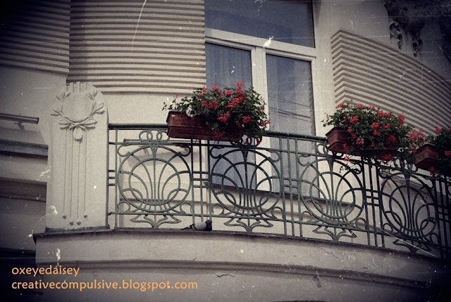 art nouveau iron work