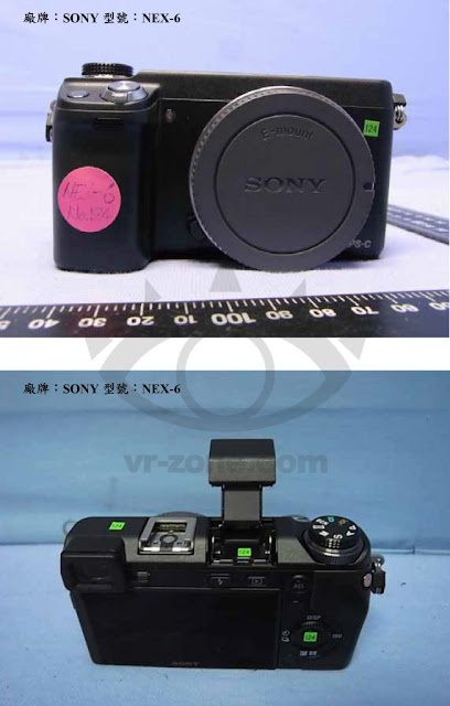 Fotografie della Sony NEX-6