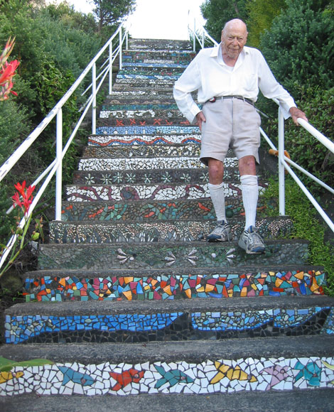 With Imagination Even Something As Ordinary As A Set Of Stairs Can Be Made  Fascinating And Beautiful. Here Are More Examples, Stairs Decorated By  Mosaics: