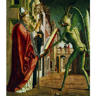 saint augustines perspective on the notion of evil Augustine (354—430 ce) st augustine is a fourth century  augustine adopts a subjective view of time and says that time is  being and of the origin of evil .