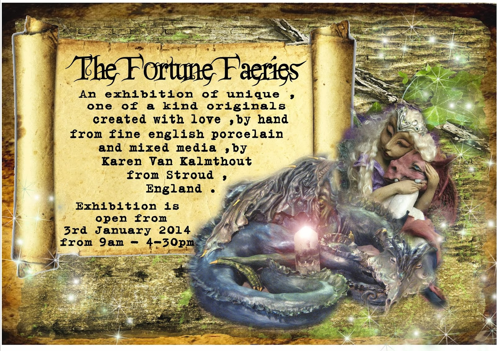 THE FORTUNE FAERIES EXHIBITION