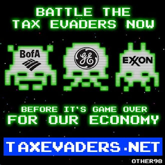 Tax Evaders A fun video game where you get to virtually punch Corporate Tax Cheats in the Face!