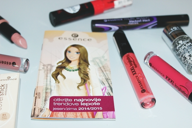 ESSENCE 2015 makeup haul (lipglosses, mascaras, nail polishes...). Essence sminka 2015.