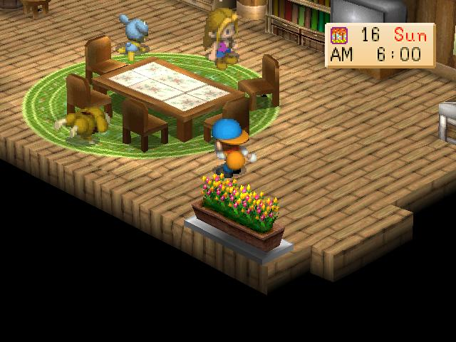 Harvest Moon Back to Nature Screenshot 1