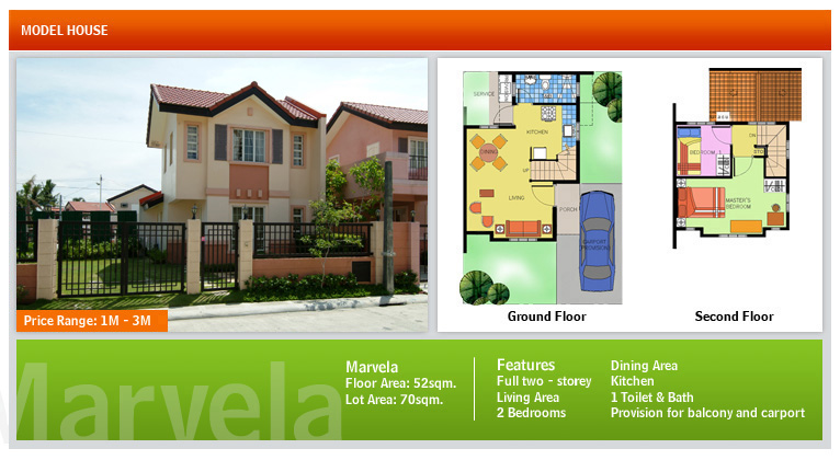 Camella House Floor Plan