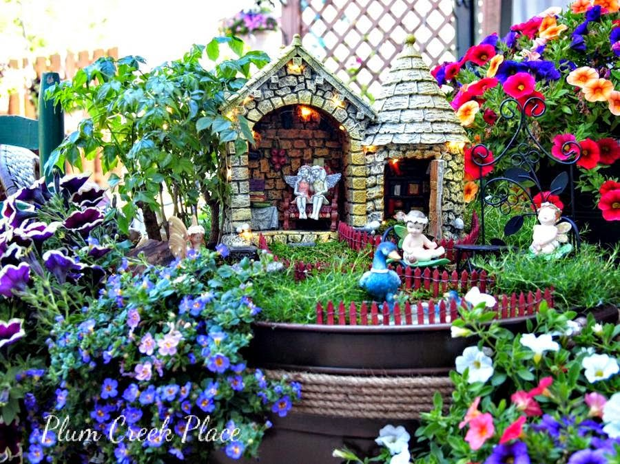 Plum Creek Place Fairy Garden