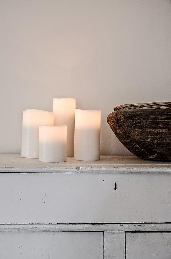 Ledljus från Enjoy candles, brandsäkra och naturtrogna!