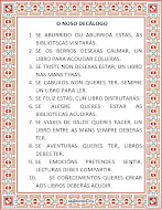 DECÁLOGO DA NOSA BIBLIOTECA