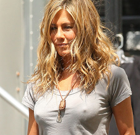 There are rumors that for the the first time ever Jennifer Aniston is going ...
