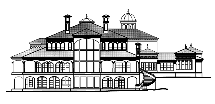 Mansions more european mansion design with floor plans for European estate house plans