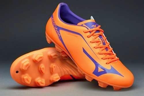 2015 Mizuno Basara FG with Neon Orange