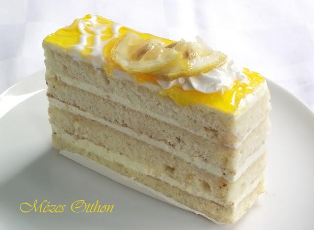 citromos sütemény fotó