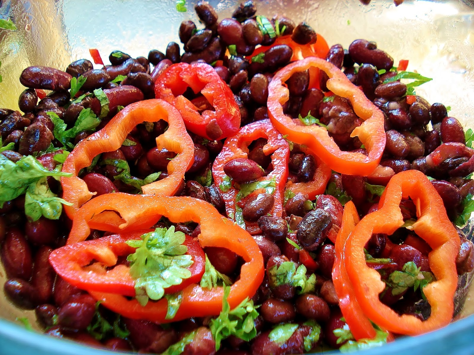 Mixed Bean Salad GF SCD | Gluten Free SCD and Veggie