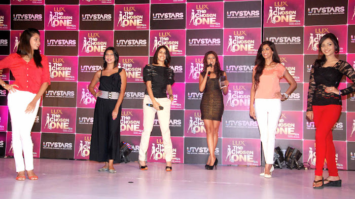 genelia at the launch of utv stars the chosen one unseen pics