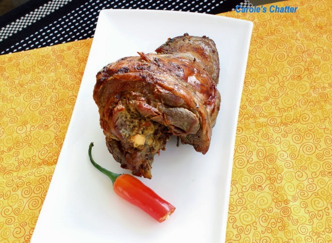 Stuffed Boneless Leg of Lamb by Carole's Chatter