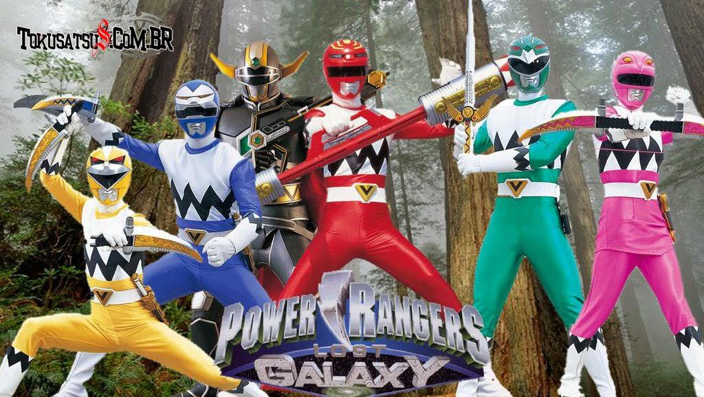 Power Rangers Galaxia Perdida 7ª Temporada Completa Download