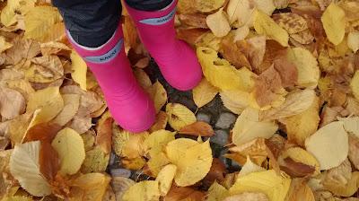 Herbst Runzelfuesschen Elternblog Must have Herbst Gummistiefel Test