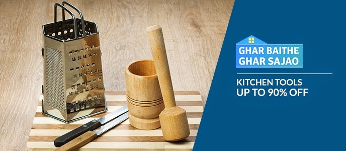90% discount on the kitchen tools
