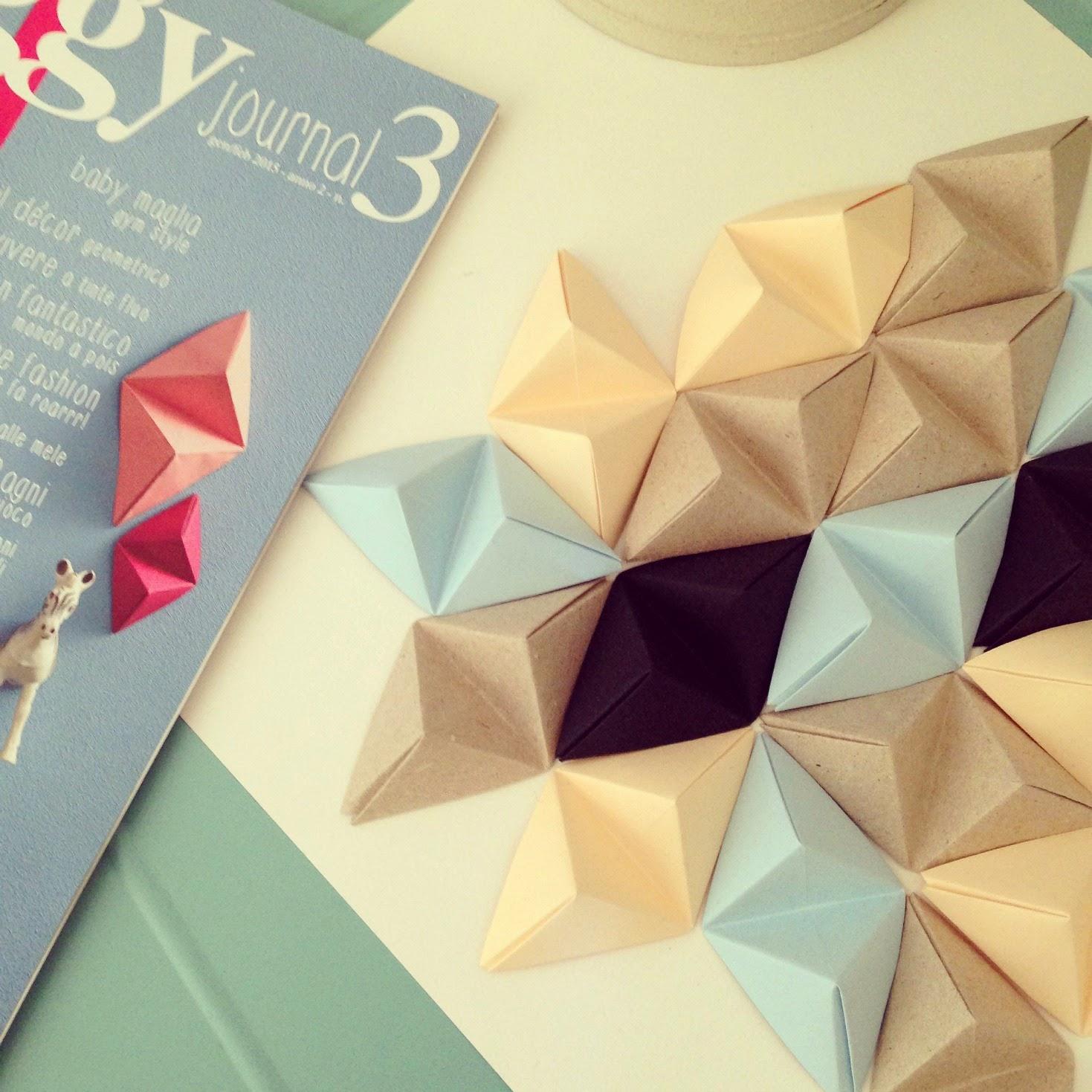 Tutorial doppia piramide origami