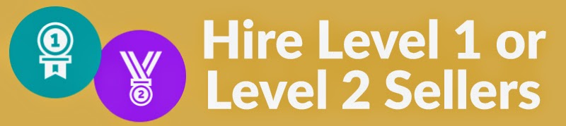 Hire Level 1 or Level 2 Sellers on Fiverr