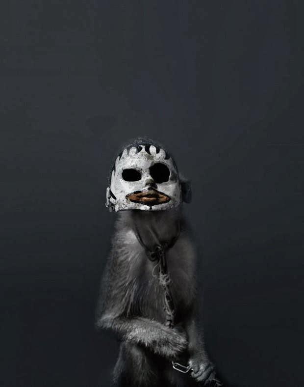 Los monos con mascaras de Indonesia