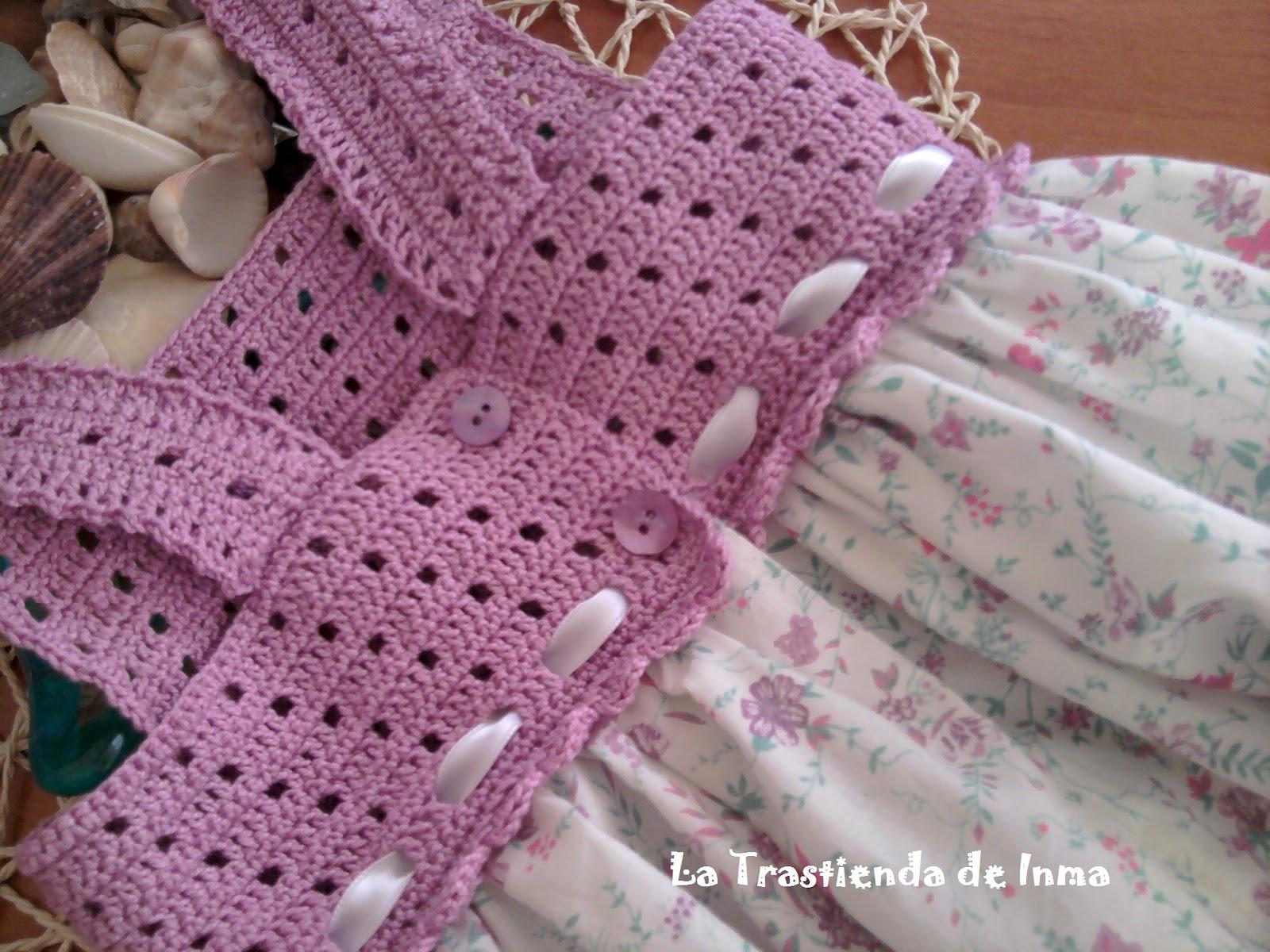 Vestido De Nina En Crochet