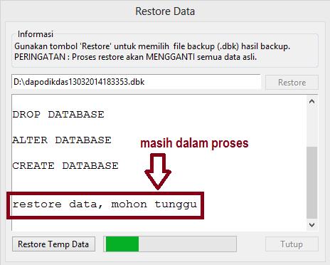 Cara Mudah Backup Local Data Dapodikdas 2013 Dengan Aplikasi Dapodik Helper 2014 Sdn 2