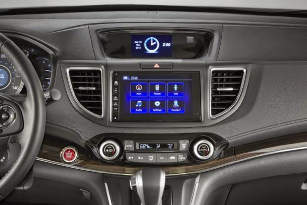 Novo Honda Crv 2015 painel central multimidia