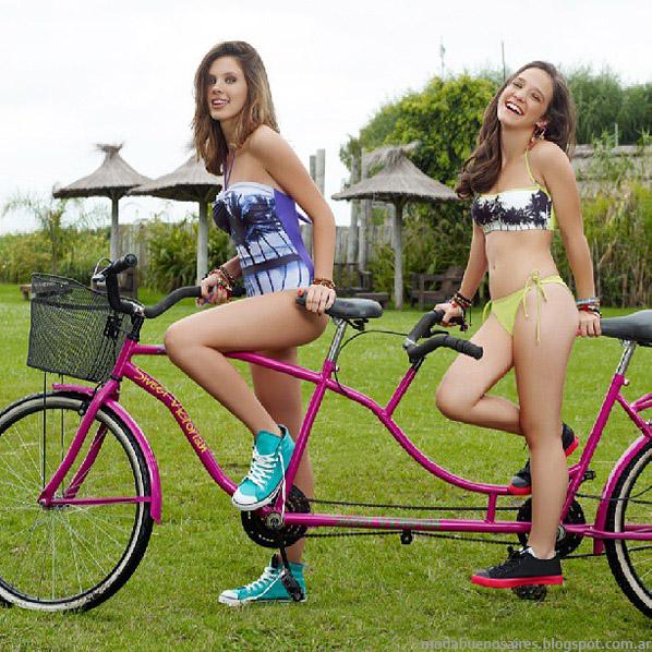 Sweet Victoian verano 2014 bikinis y mallas.