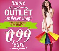 Immagine promozione UnileverShop e risparmi fino al 50%