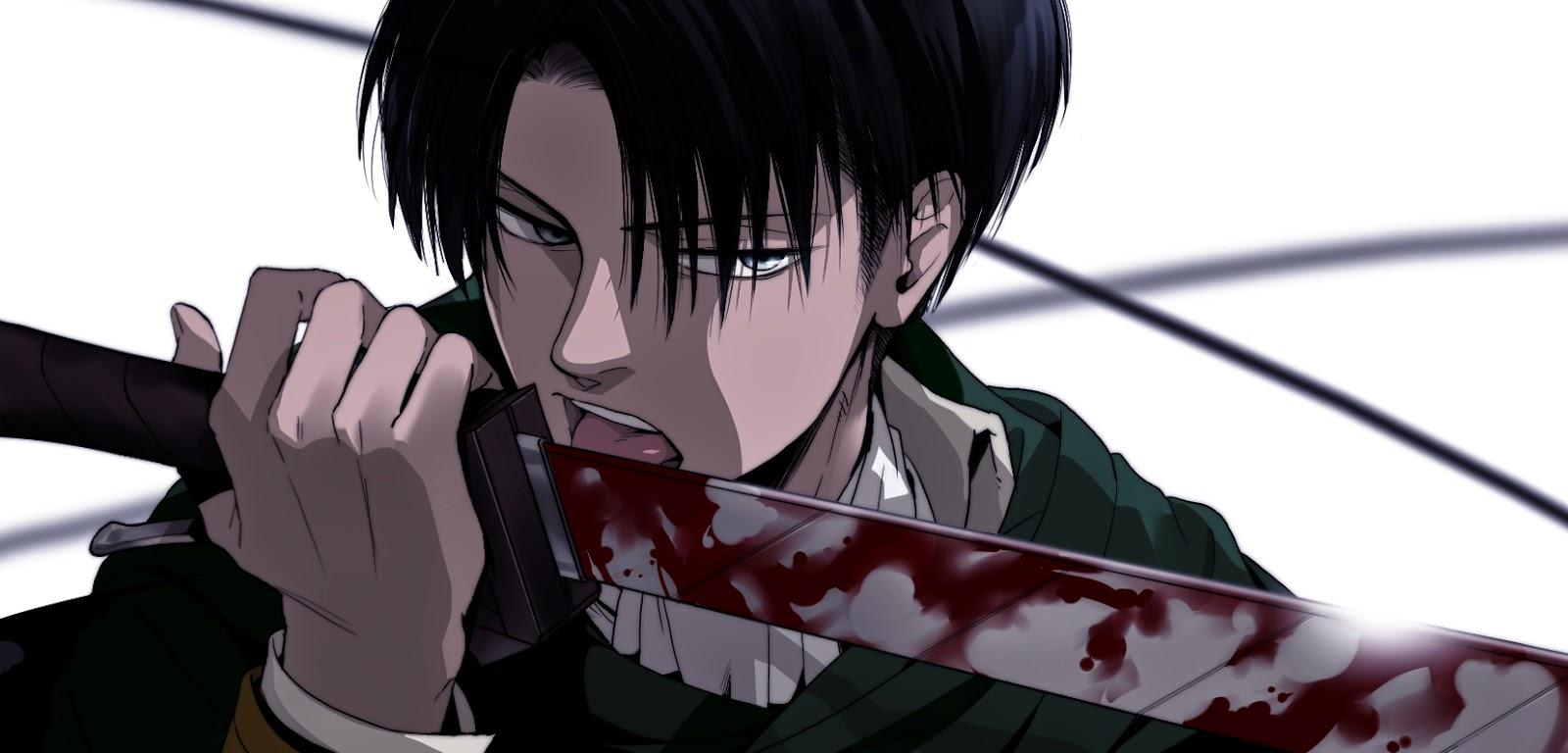 Umur Levi (Shingeki No Kyojin) ternyata sudah diatas 30 tahun