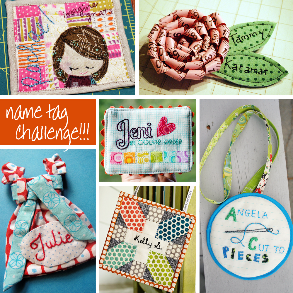Name tag craft ideas - Name Tag Challenge