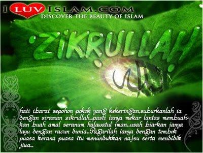 Zikrullah Untuk Hati