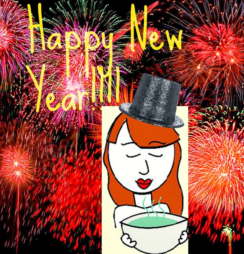 Ginger Soup wishes everyone a Happy New Year