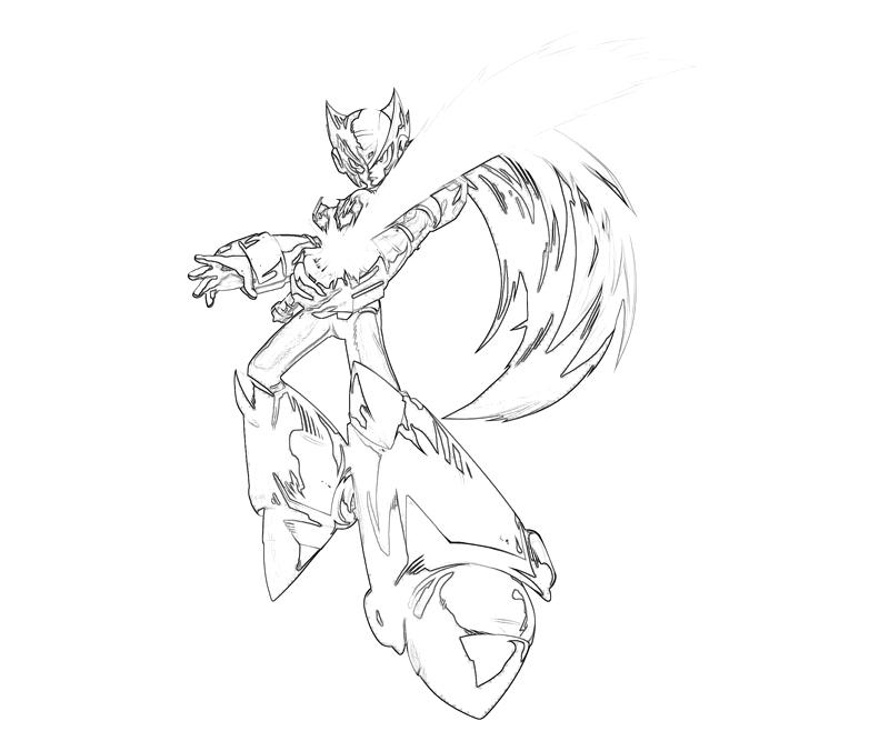 marvel-vs-capcom-zero-megaman-abilities-coloring-pages