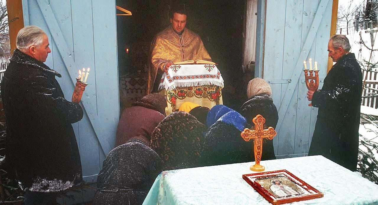 Católicos na miséria sob a perseguição na Criméia