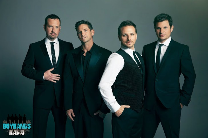 Nick Lachey's band 98 degrees (98º) on BoybandsRadio.com