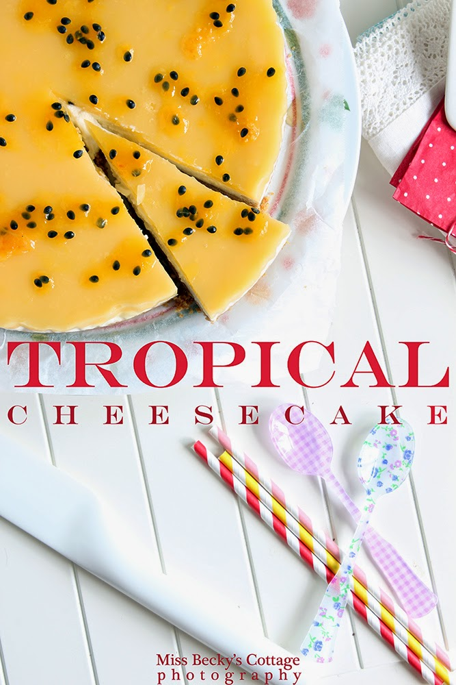 tropical cheesecake e profumo d'estate