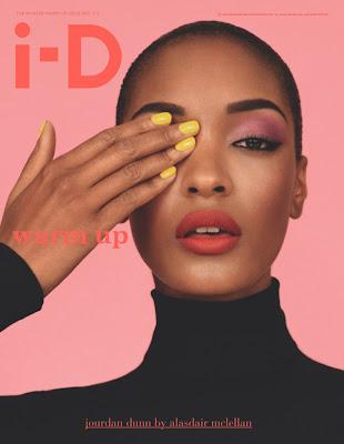 Jourdan Dunn en couv' de i-D Magazine