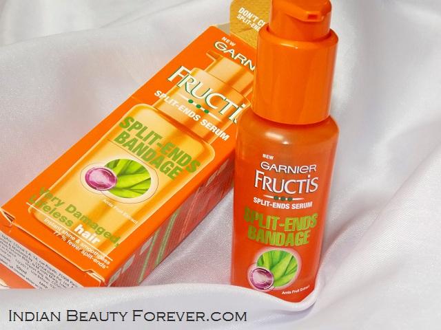 Garnier Fructis Splits Ends Serum review
